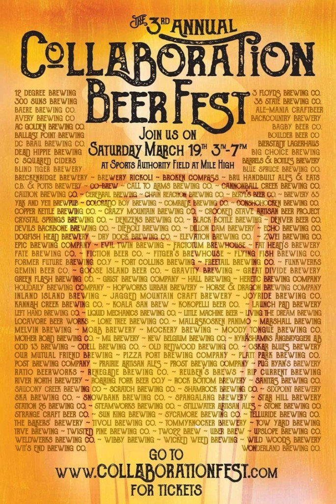 2016 Collaboration Fest & Colorado Craft Beer Week | BottleMakesThree.com